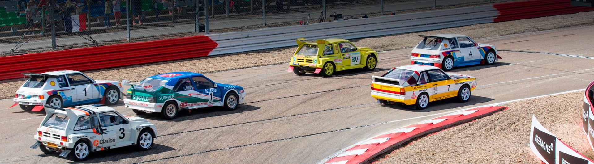 rallycross de lohéac legend car