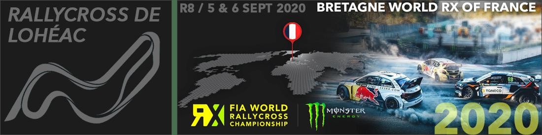 rallycross lohéac RX 2020 Bretagne
